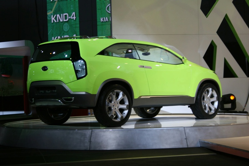 2007 Kia Knd 4 Concept. KND-4#39;s interior provides a