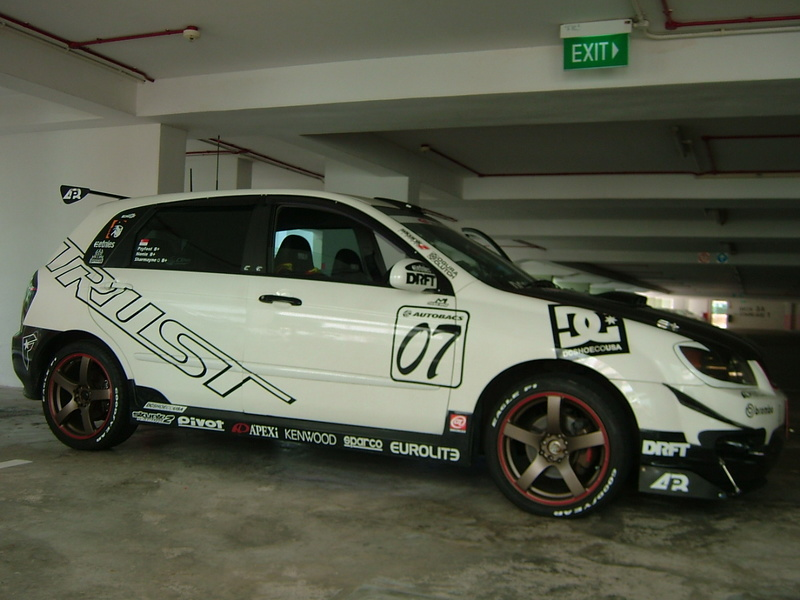Kia Spectra tuning pictures
