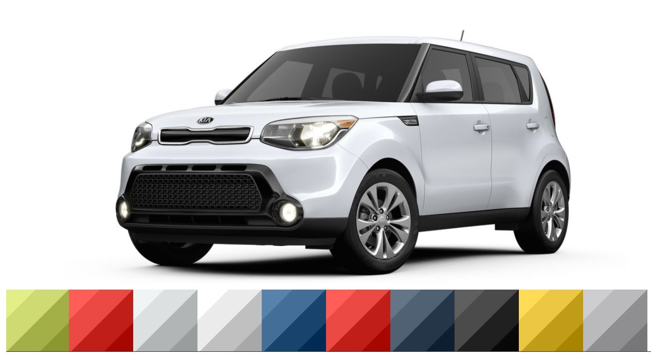 2016 kia soul color options exterior interior kia news blog. Black Bedroom Furniture Sets. Home Design Ideas