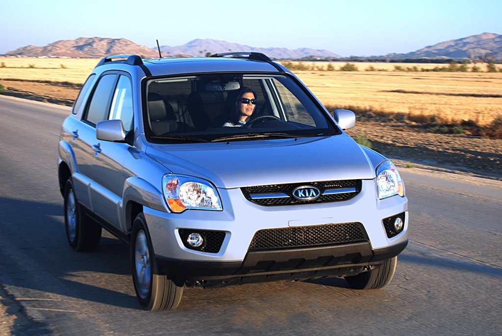 Official press release for the 2009 Kia Sportage