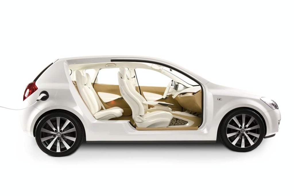 to see the concept using body shell from five-door Kia cee'd.