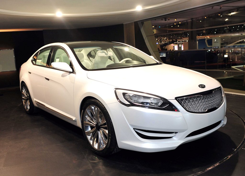 Kia Vg Concept Unveiled At Seoul Auto Show Kia News Blog