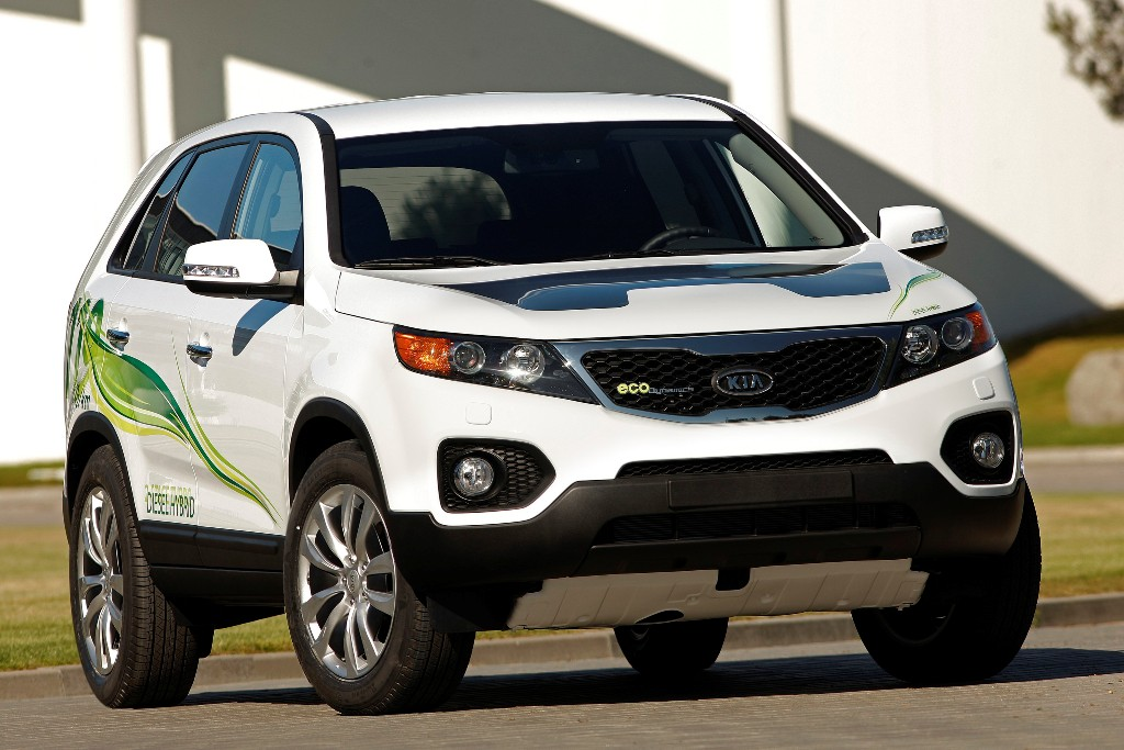 kia sorento diesel electric hybrid suv kia news blog. Black Bedroom Furniture Sets. Home Design Ideas