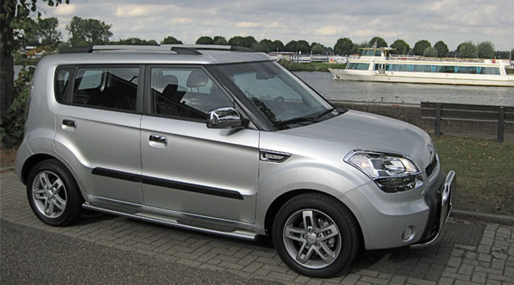 Kia Soul Accessories >> Kia Soul With A Pushbar Sidebars Other Chrome Accessories