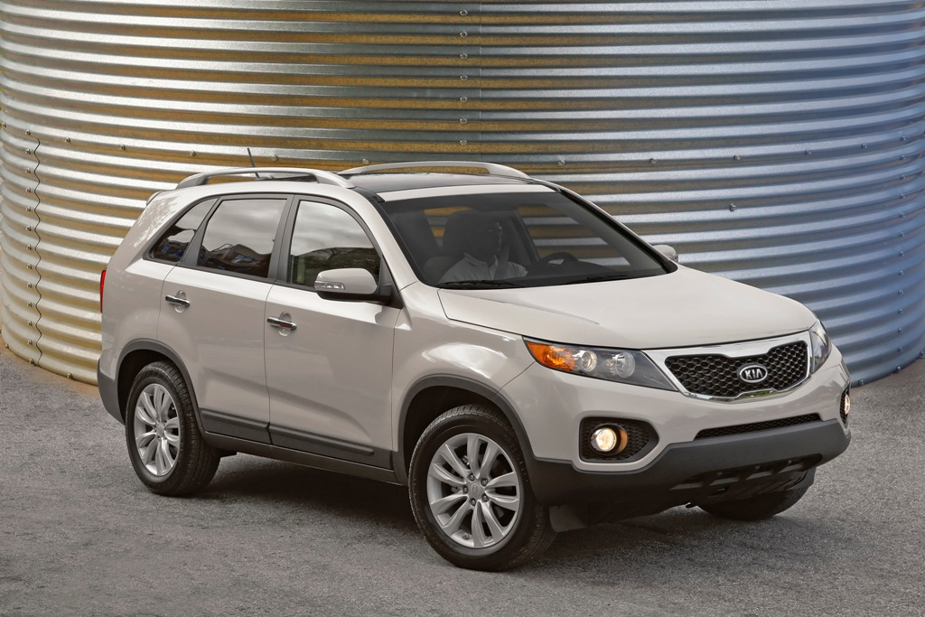 2011 kia sorento cuv makes its official us debut in los angeles kia news blog. Black Bedroom Furniture Sets. Home Design Ideas