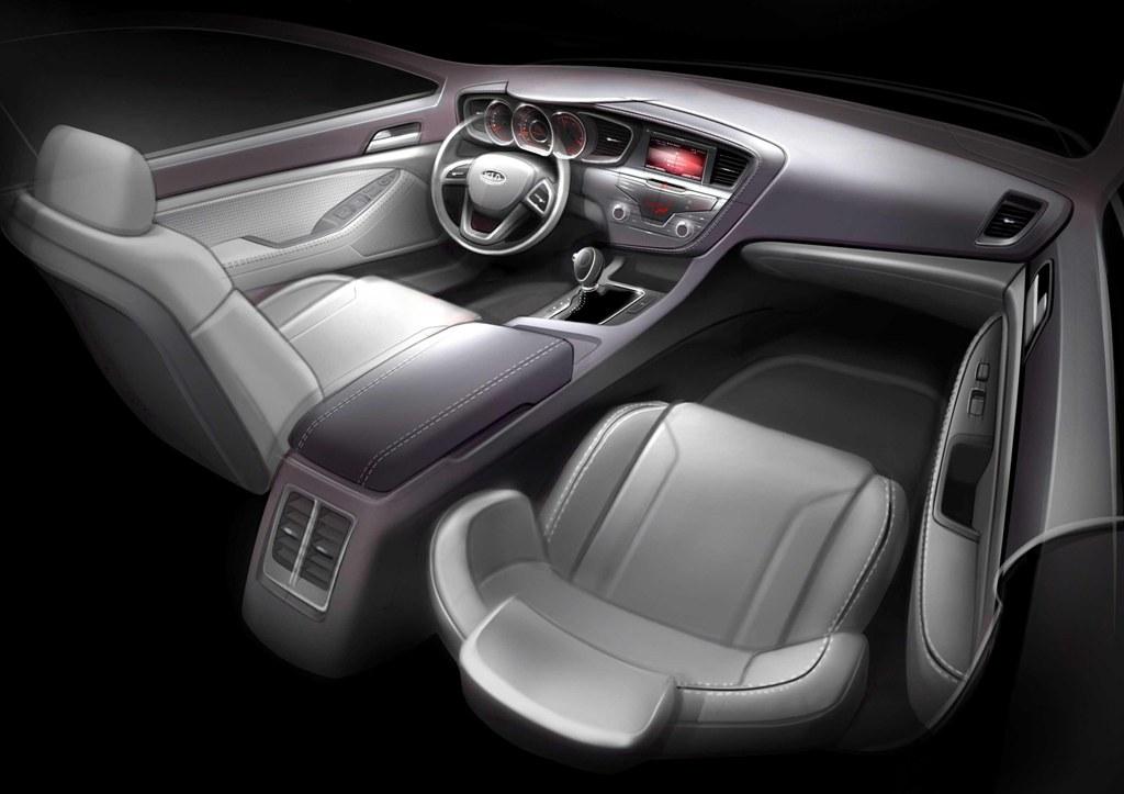 2011 Kia Picanto Interior. 2011 Kia Optima interior