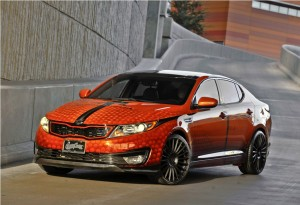Modified Kia Optima