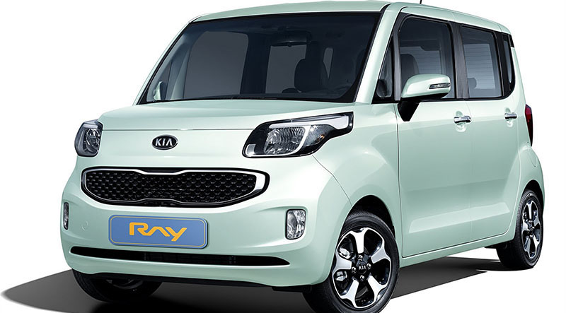 First Official Picstures Of Kia Ray (Korean Market Vehicle)