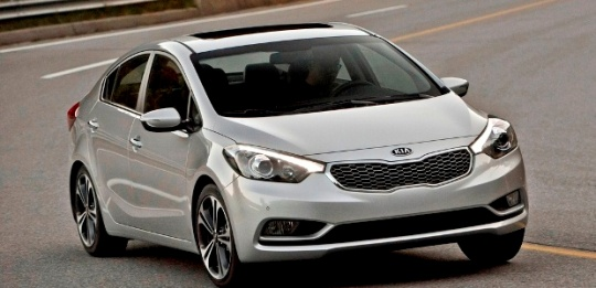 Kia Cerato 4Door Sedan 2013 Model Year  Kia News Blog