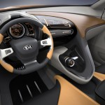 kia dashboard 150x150 Picture Gallery Of The Kia Cross GT Concept CUV suv vans