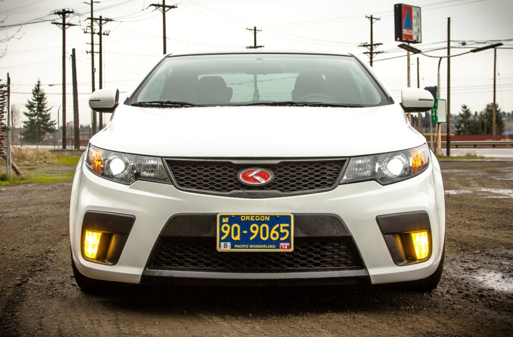 White Kia Forte Koup Ex Tuning Kia News Blog