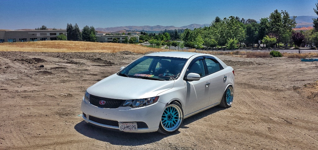 Snow White Pearl Forte Ex Tuning Kia Owner Interview