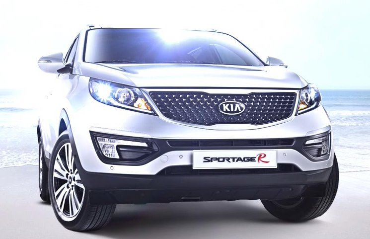minor facelift for korean specs kia sportage r photos. Black Bedroom Furniture Sets. Home Design Ideas