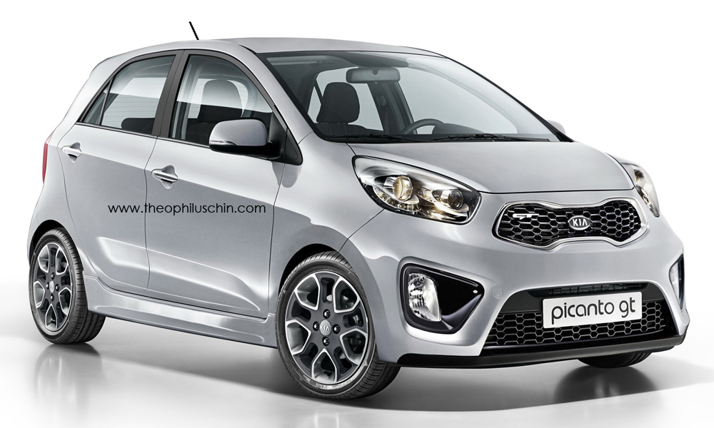 cool looking picanto gt hot hatchback kia news blog. Black Bedroom Furniture Sets. Home Design Ideas