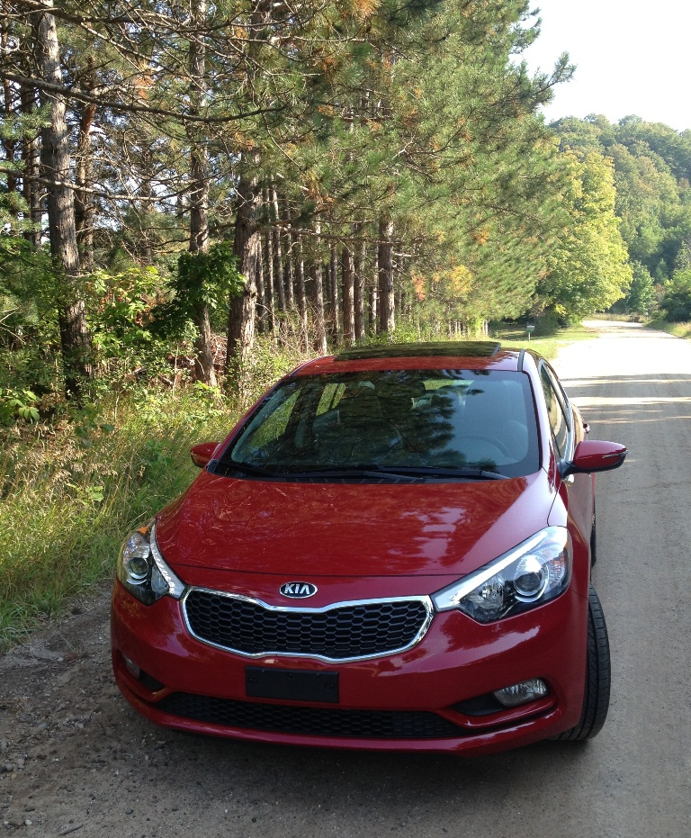 crimson red 2014 kia forte ex in manistee michigan pictures kia news blog. Black Bedroom Furniture Sets. Home Design Ideas