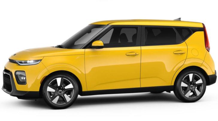 Kia Soul Solar Yellow