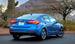 Kia Forte Named Best Compact Sedan