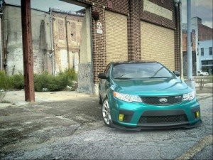 Tricked Out Kia Forte Koup SY