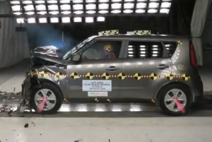 Kia Soul 2014 Crash Test Photo