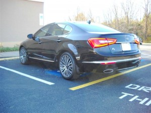 Kia Cadenza Alloy Wheels Image