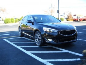 Kia Cadenza Black Photo