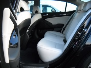 Kia Cadenza White Leather