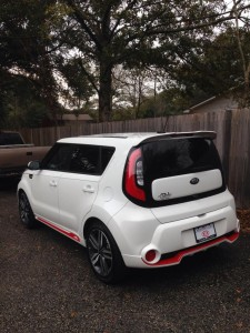 2014 Kia Soul Red Zone Photo