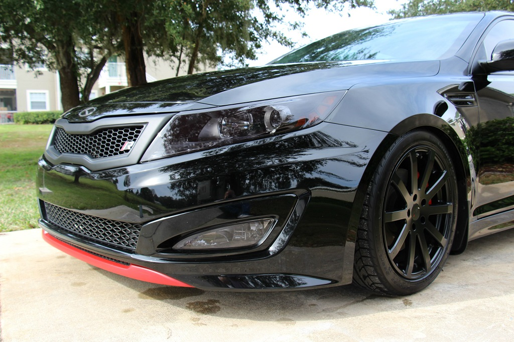 Kia Optima Murdered Out >> Aftermarket Accessories: Kia Optima Aftermarket Accessories
