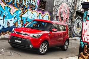 Kia Soul Red Color