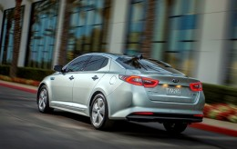 A photo of new Kia Optima Hybrid