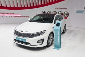 2014 Kia Optima Hybrid facelift