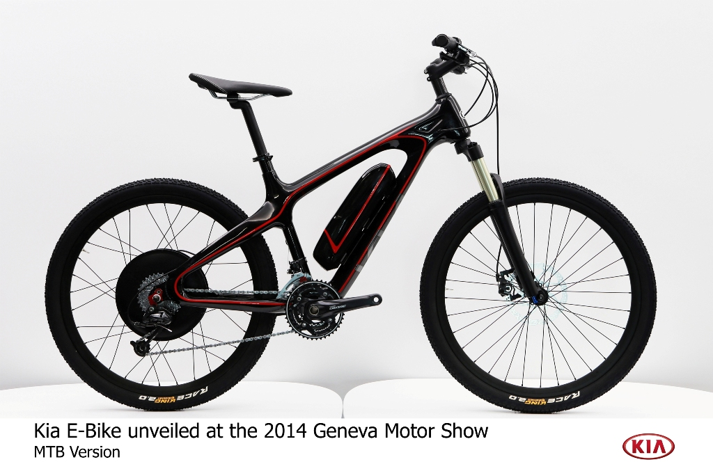 Kia Debuts Innovative City And Mtb Pedelec Electric Bikes