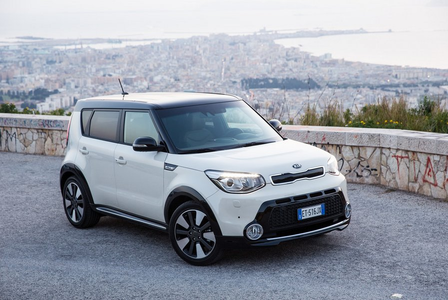Kia Soul White Color
