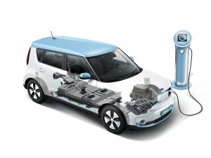 Kia Soull Electric battery pack