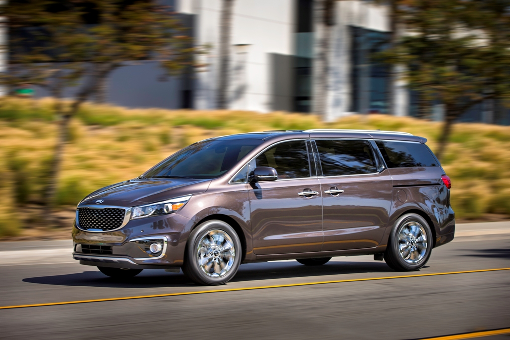 kia launches new minivan 2015 sedona changes specs colors kia news blog. Black Bedroom Furniture Sets. Home Design Ideas