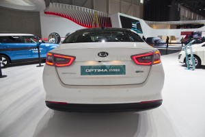 Kia Optima Hybrid Facelift