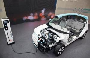 Kia Soul EV charging port