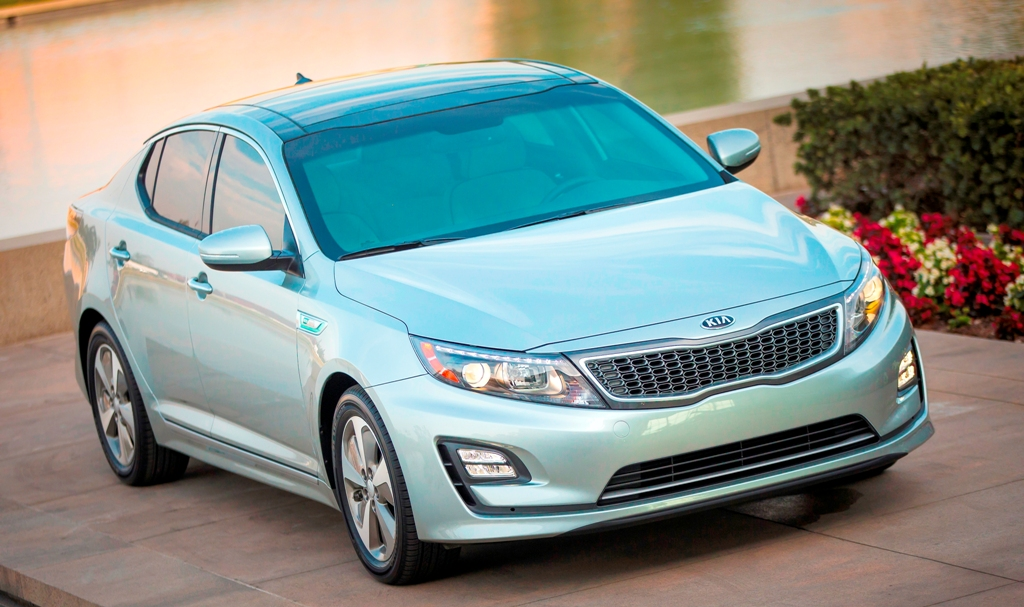 new kia hybrid 2014 optima design changes kia news blog. Black Bedroom Furniture Sets. Home Design Ideas