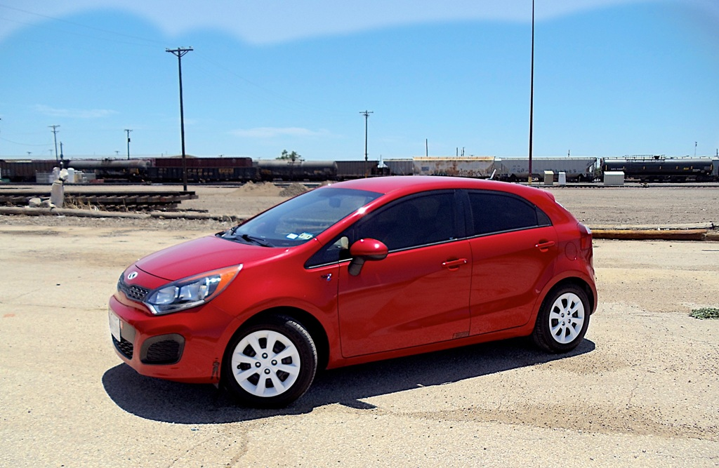 Kia Rio Red Paint Code