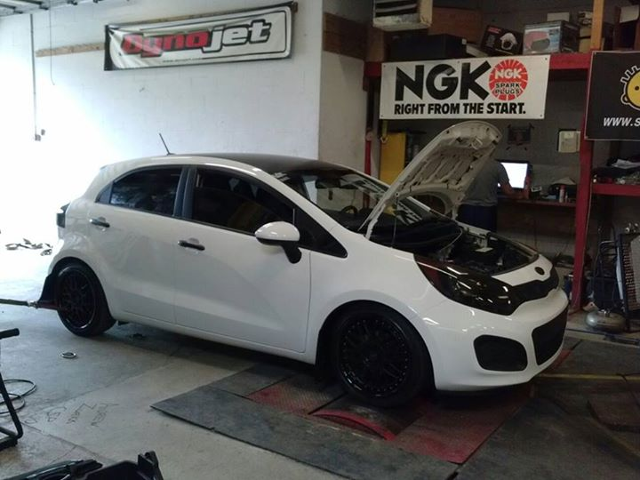 Kia Rio 5 Door Hatchback Tuning Photos Modifications