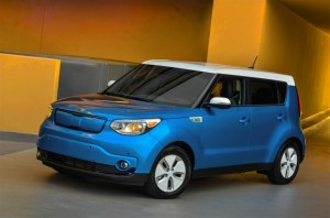 2015 Kia Soul Electric Car