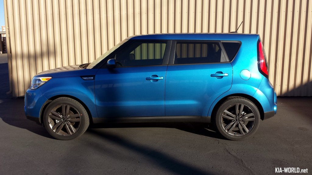 Cool Pics Of The Caribbean Blue Kia Soul + Owner Thoughts ...