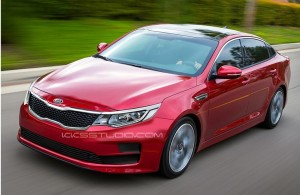 Next Kia Optima Rendering