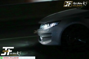 Kia K5 At Night