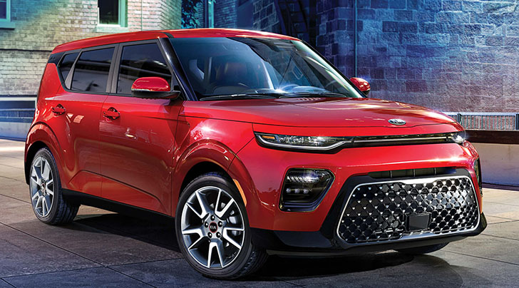 How big is the new Kia Soul crossover?
