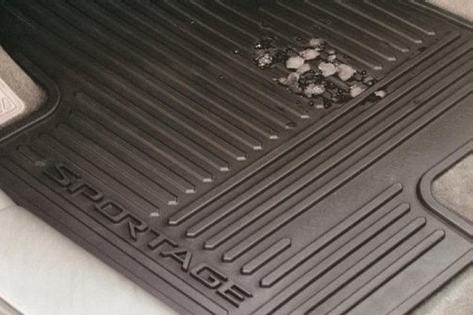 Kia All Weather Floor Mats Must Have Car Accessory