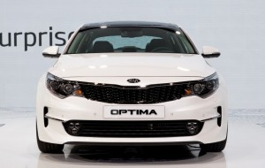 Kia Optima White