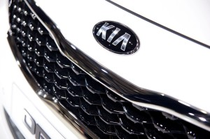 Kia Optima Diamond grille