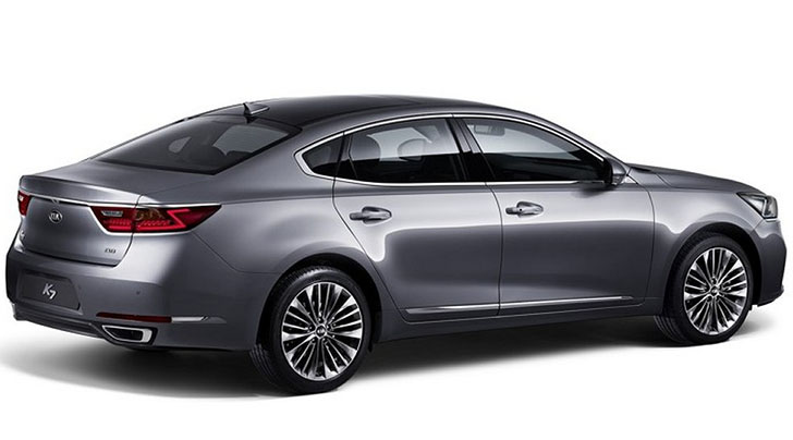 2017 Kia K7 launched in South Korea