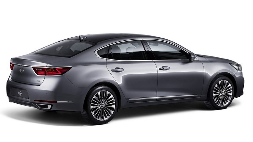 2017 kia k7 official pictures released kia news blog